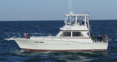 Lake Erie fishing charters aboard the largest charter boat on Lake Erie, a 41' Viking Sportfish.